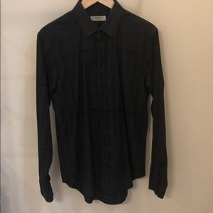 Burberry long sleeve button down - Black